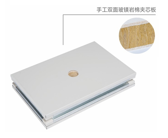 Double sided glass magnesite cotton handmade board